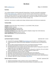 PDF Document anonymous resume