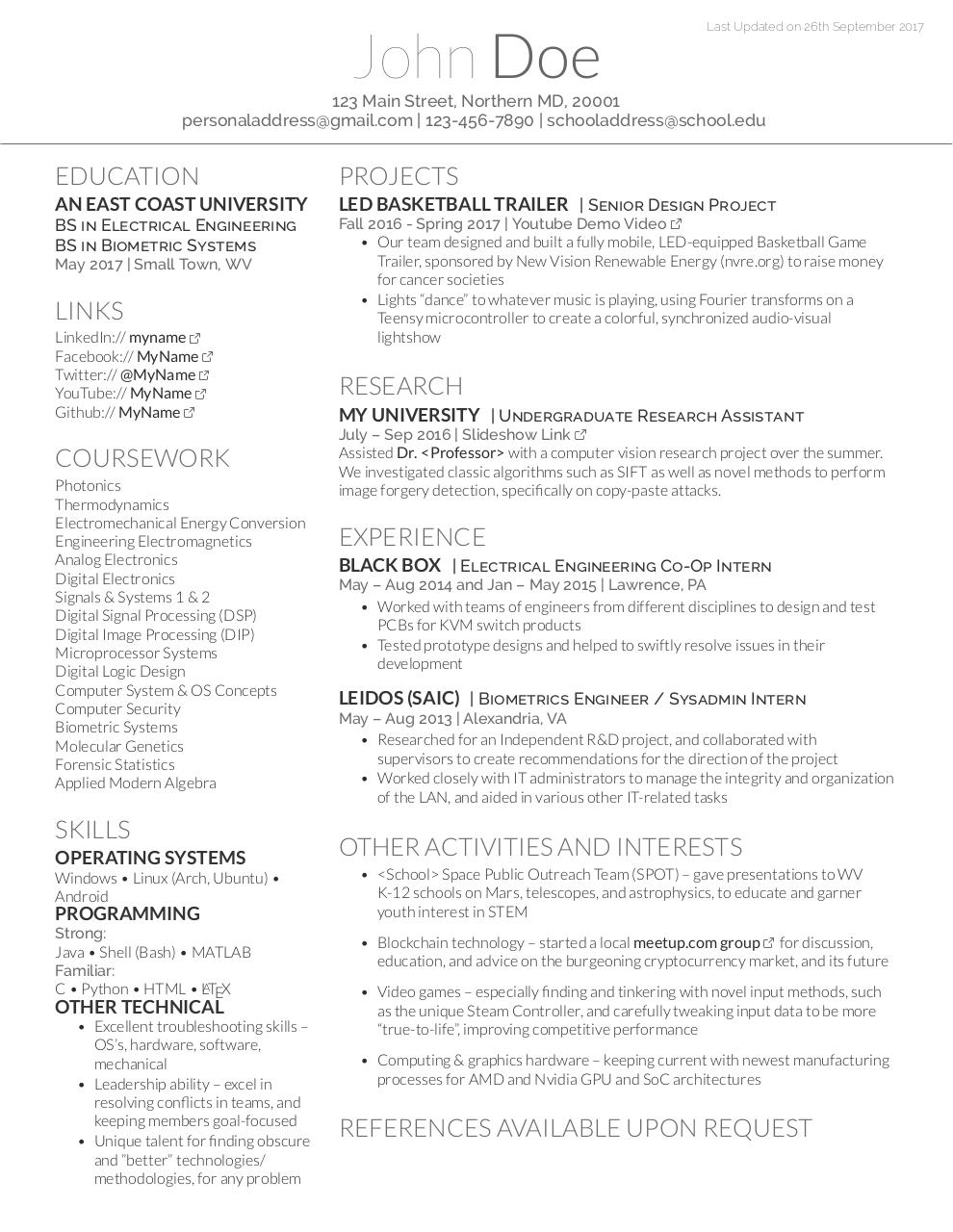 Fake resume pdf archive document preview fake resumepdf page 11 thecheapjerseys Image collections