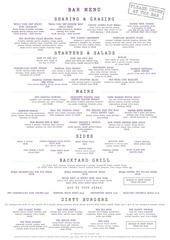 jr shiny new bar menu july 2016