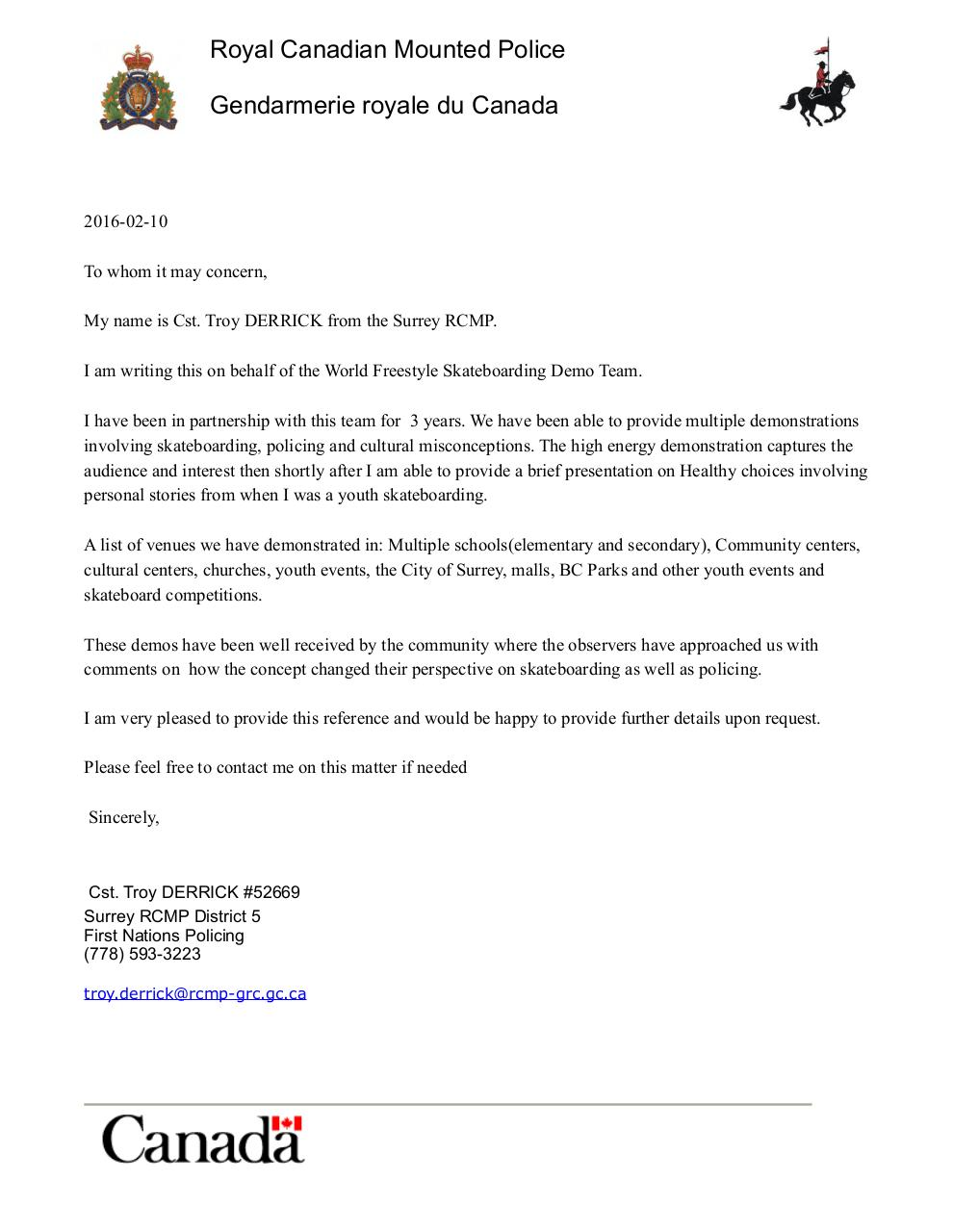 Thank You For Letter Of Rec from www.pdf-archive.com
