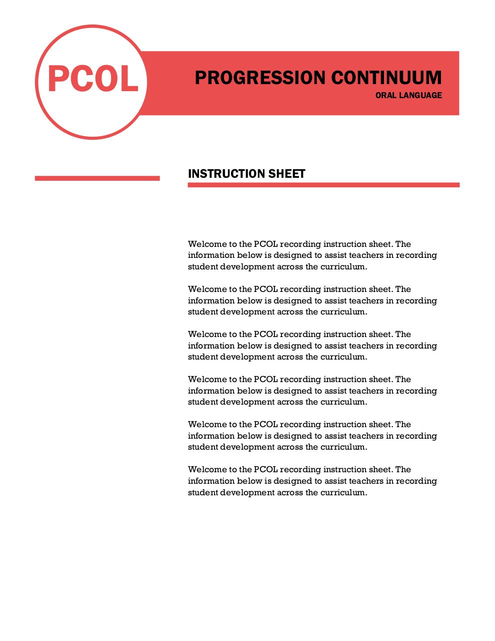 PCOL Instruction Sheet.pdf - page 1/2