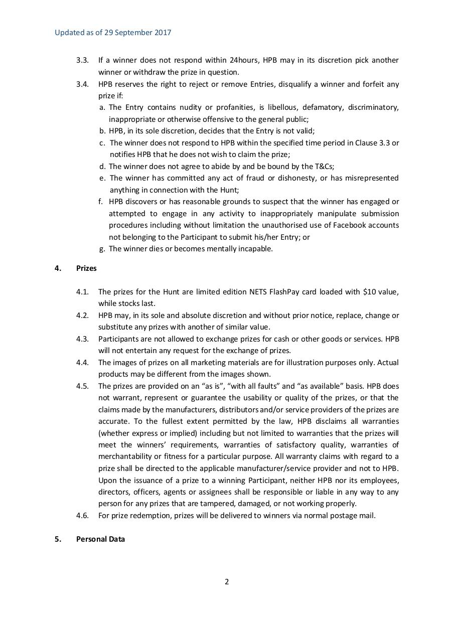 Document preview Cheap Good and Healthy_Terms and Conditions.pdf - page 2/5