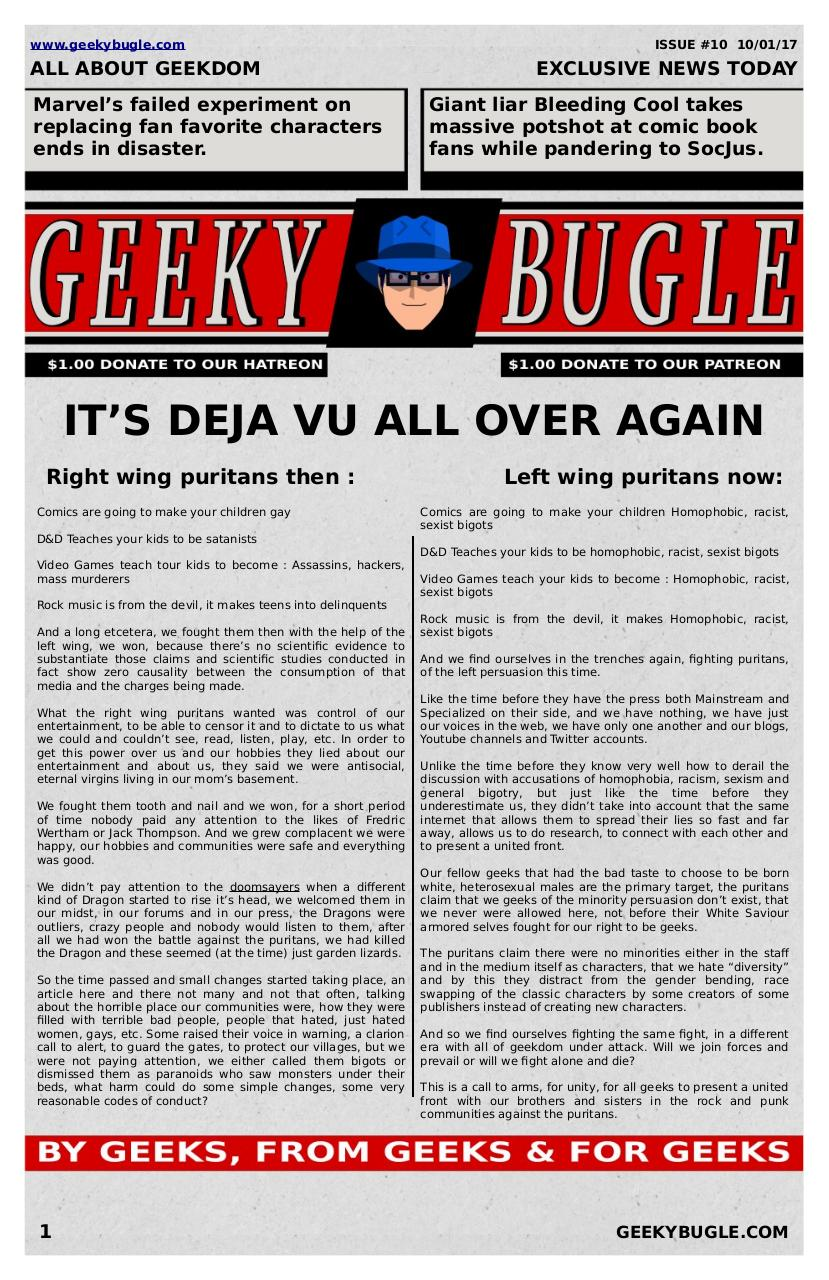 Document preview GeekyBugle10.pdf - page 1/3