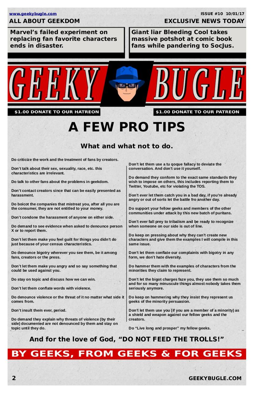 Document preview GeekyBugle10.pdf - page 2/3