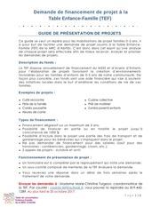 formulaire de demande financiere octobre 2017