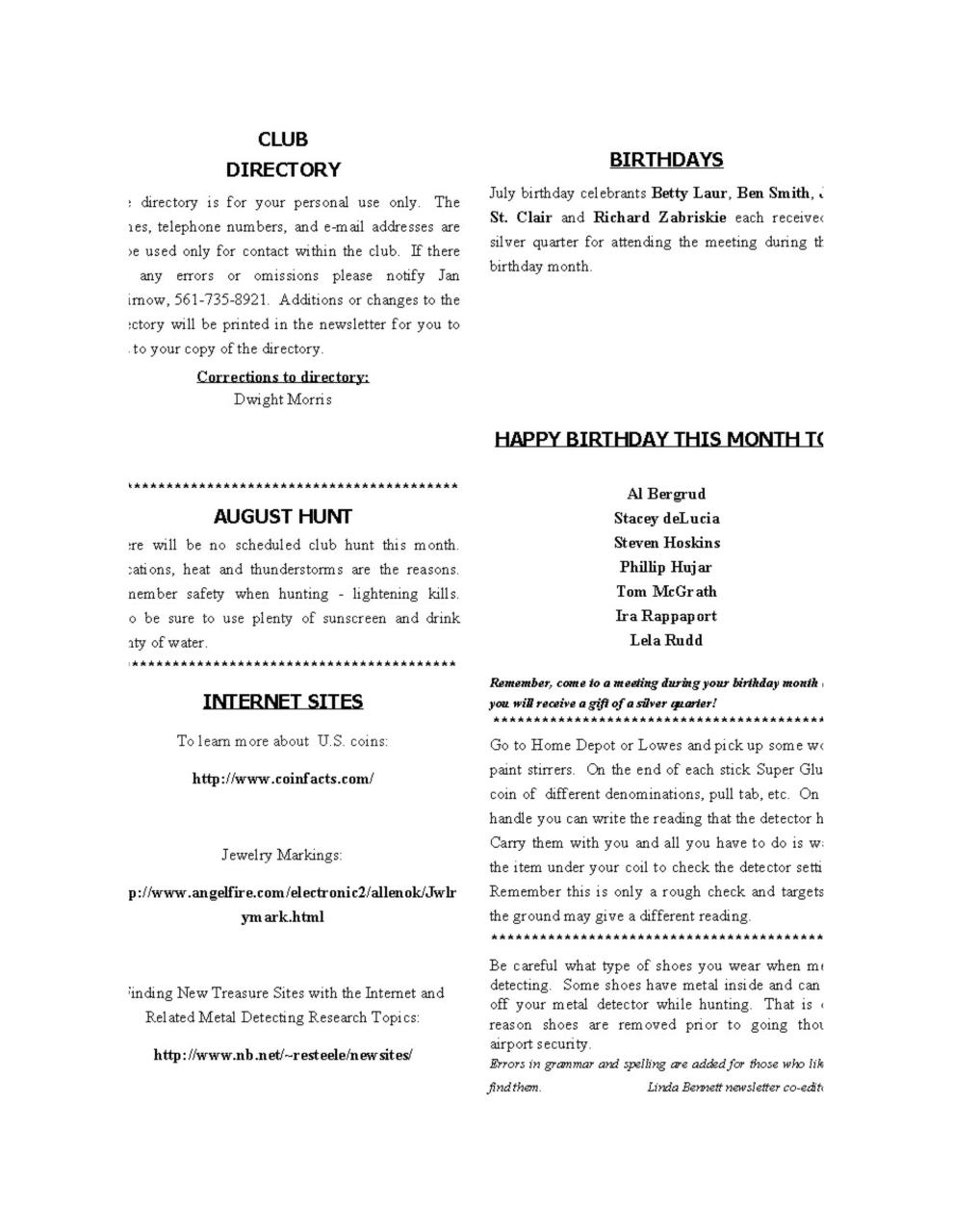 Preview of PDF document 2005-august.pdf - Page 6/8