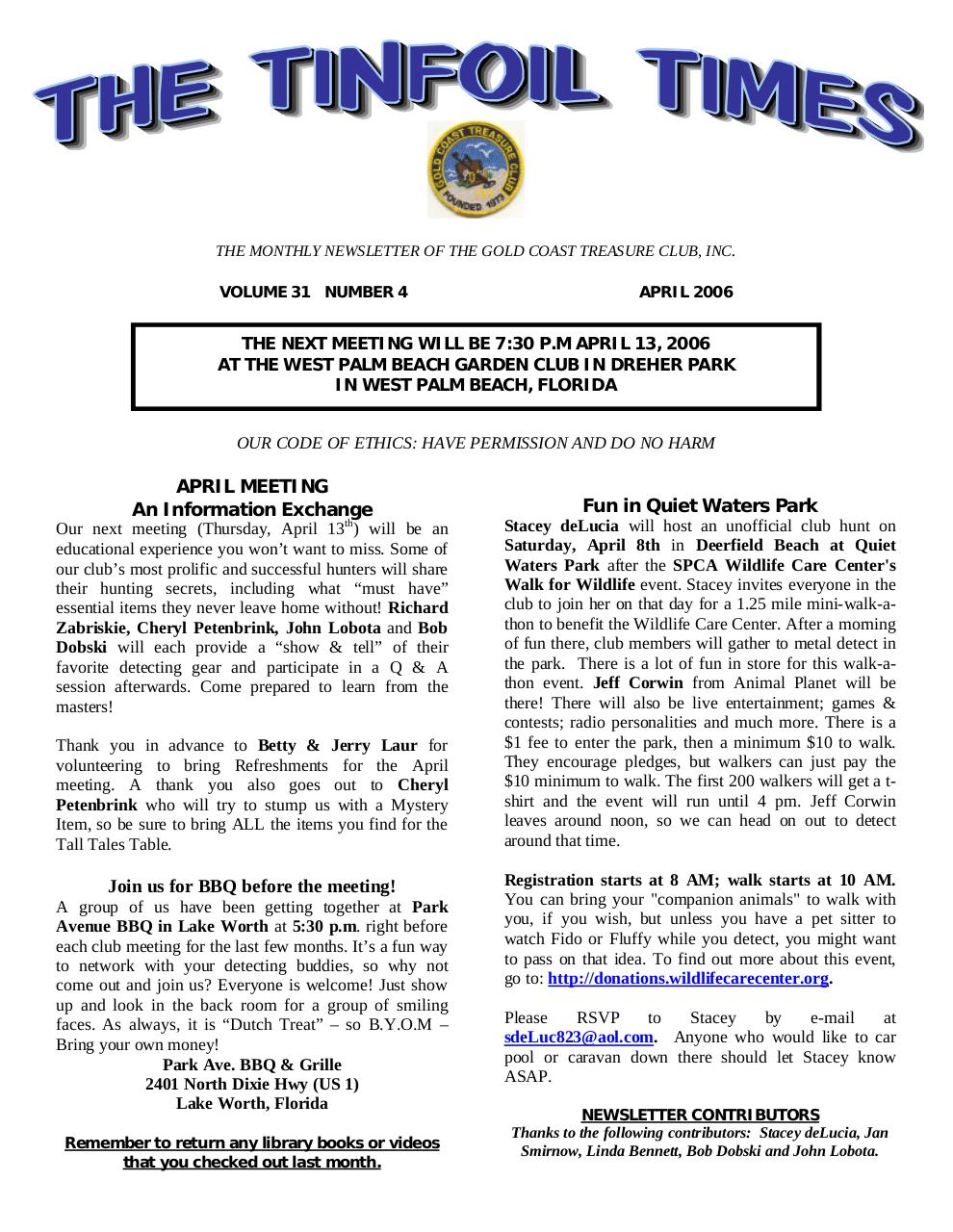 Preview of PDF document 2006-april.pdf - Page 1/7