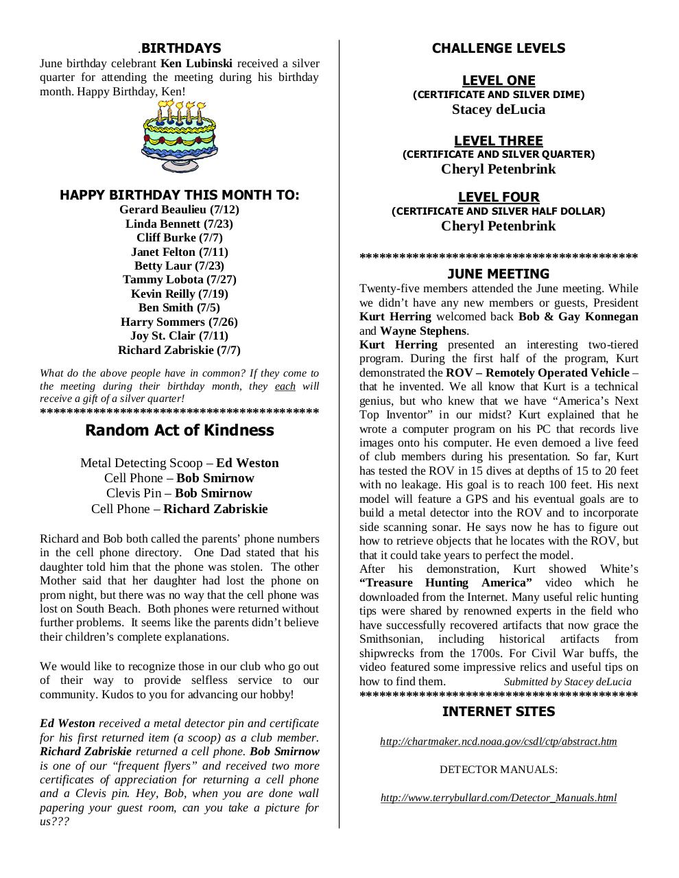 Preview of PDF document 2006-july.pdf - Page 6/12