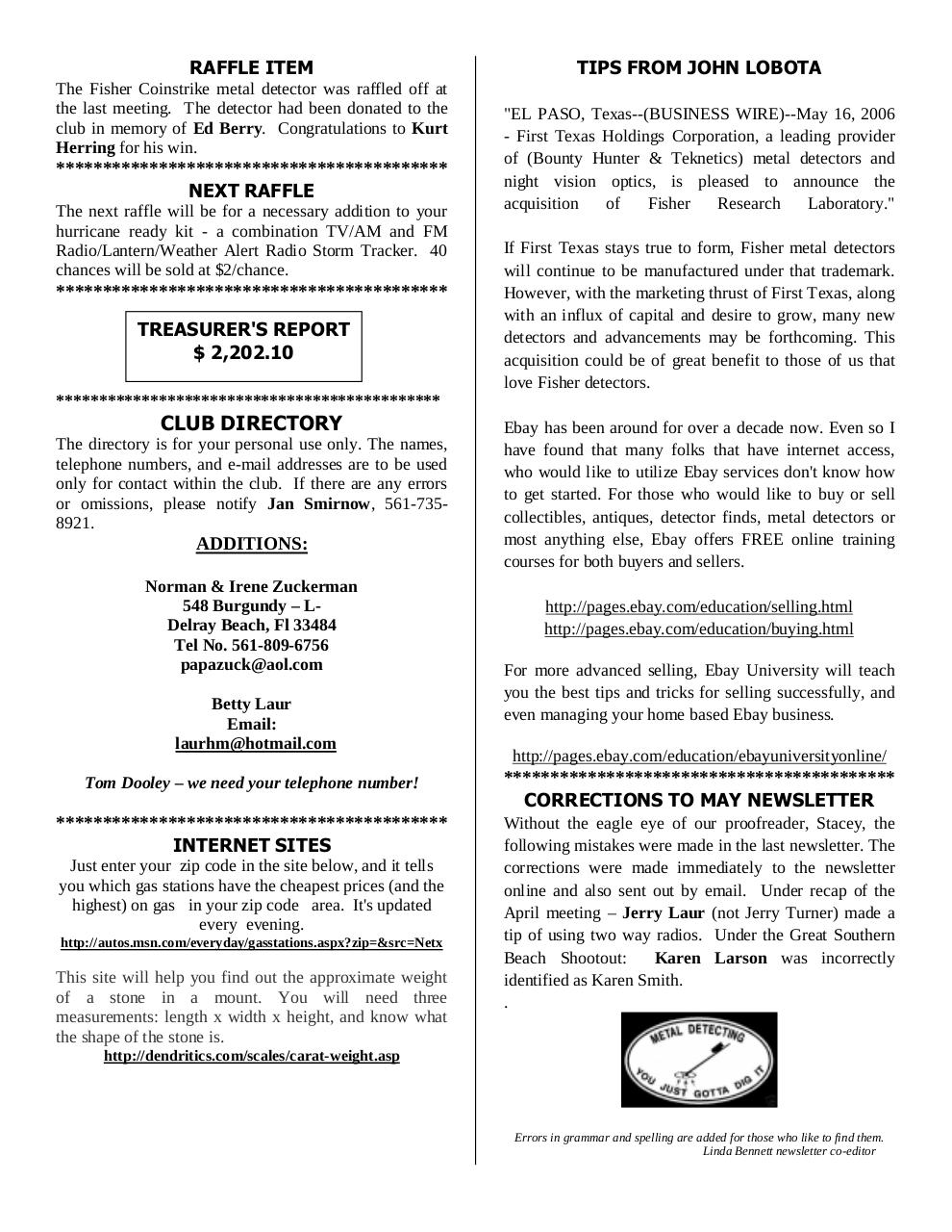 Preview of PDF document 2006-june.pdf - Page 4/8