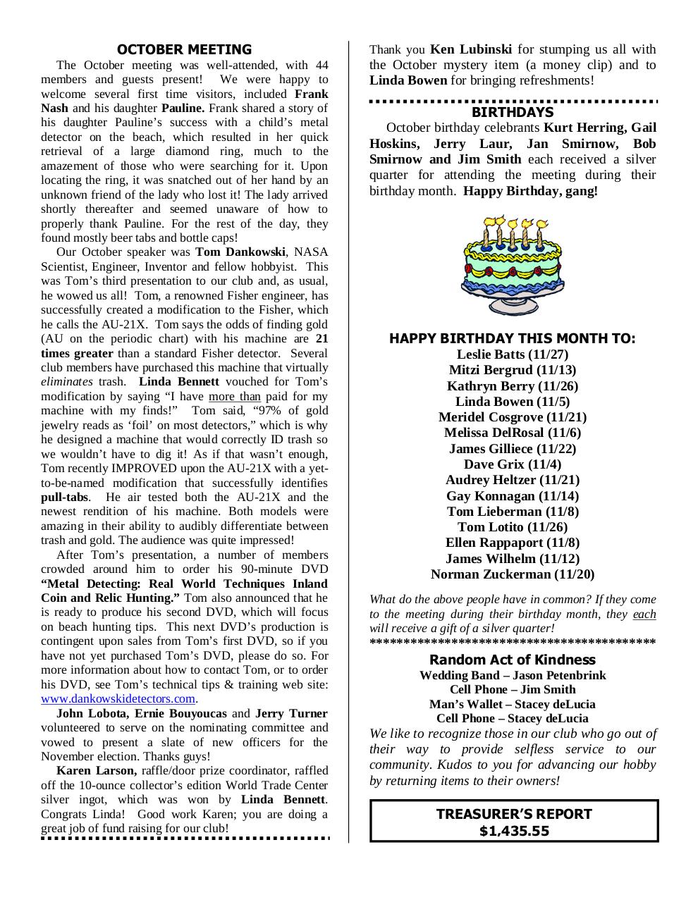 Preview of PDF document 2006-november.pdf - Page 6/9