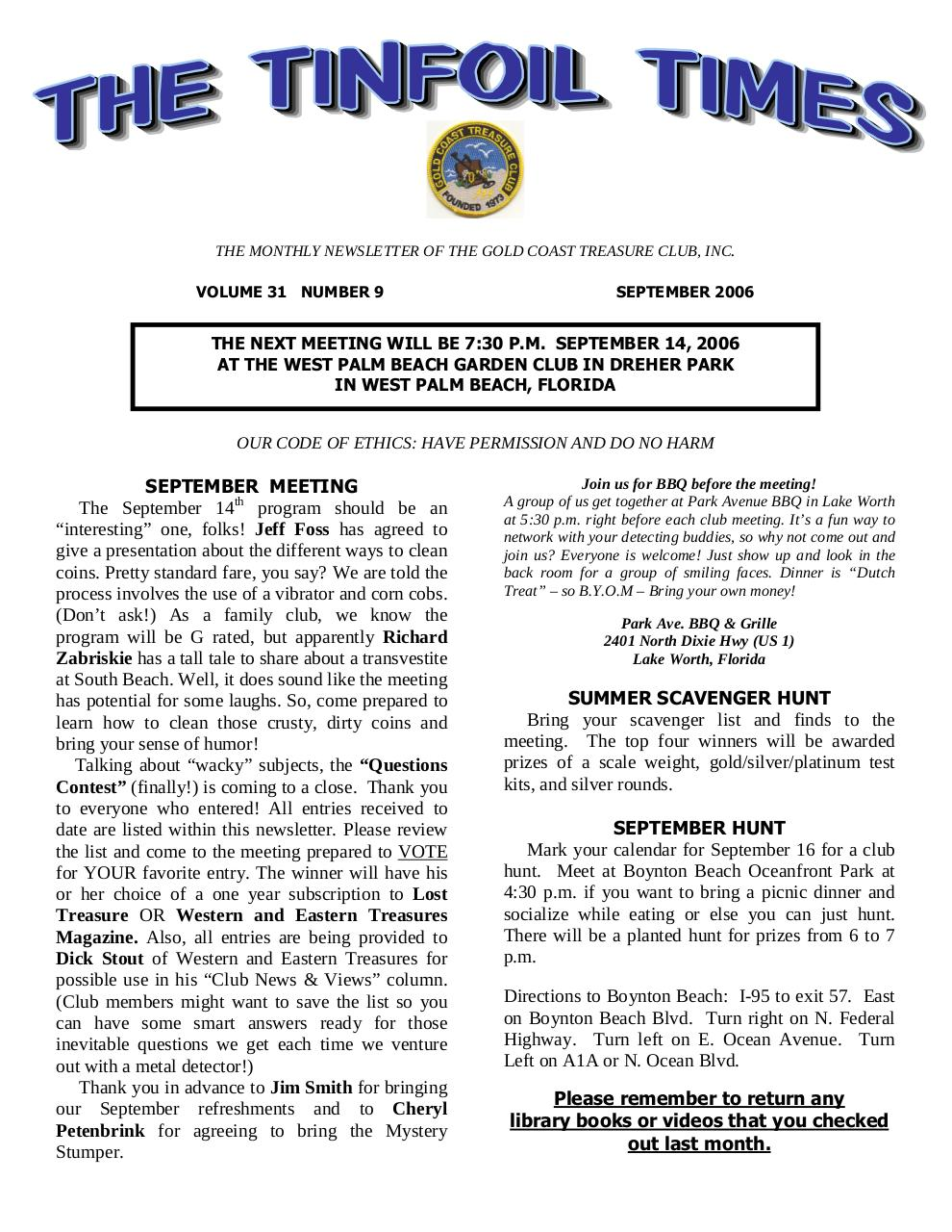 Preview of PDF document 2006-september.pdf - Page 1/10
