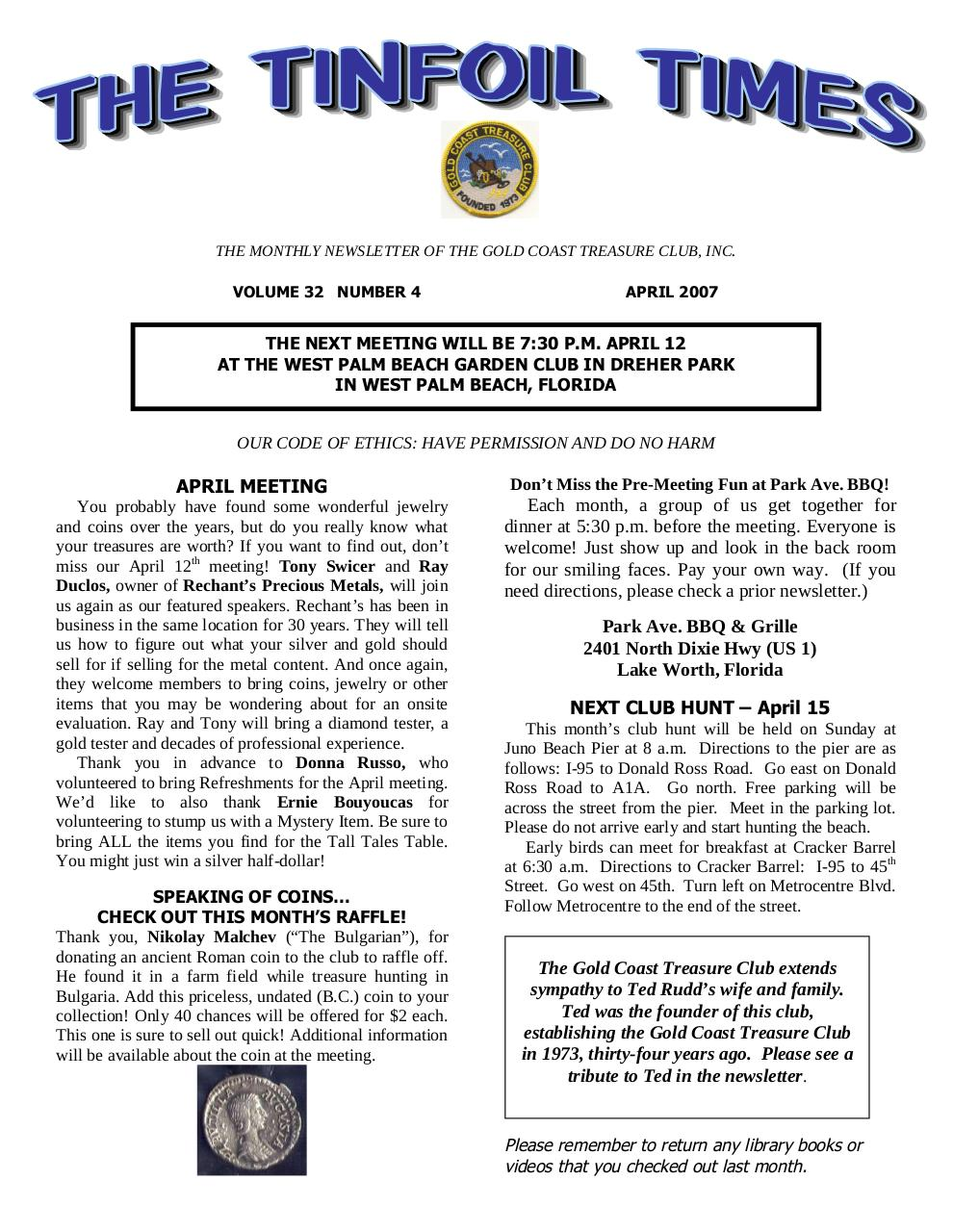 Preview of PDF document 2007-april.pdf - Page 1/10