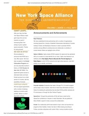 nysa fall2017 newsletter