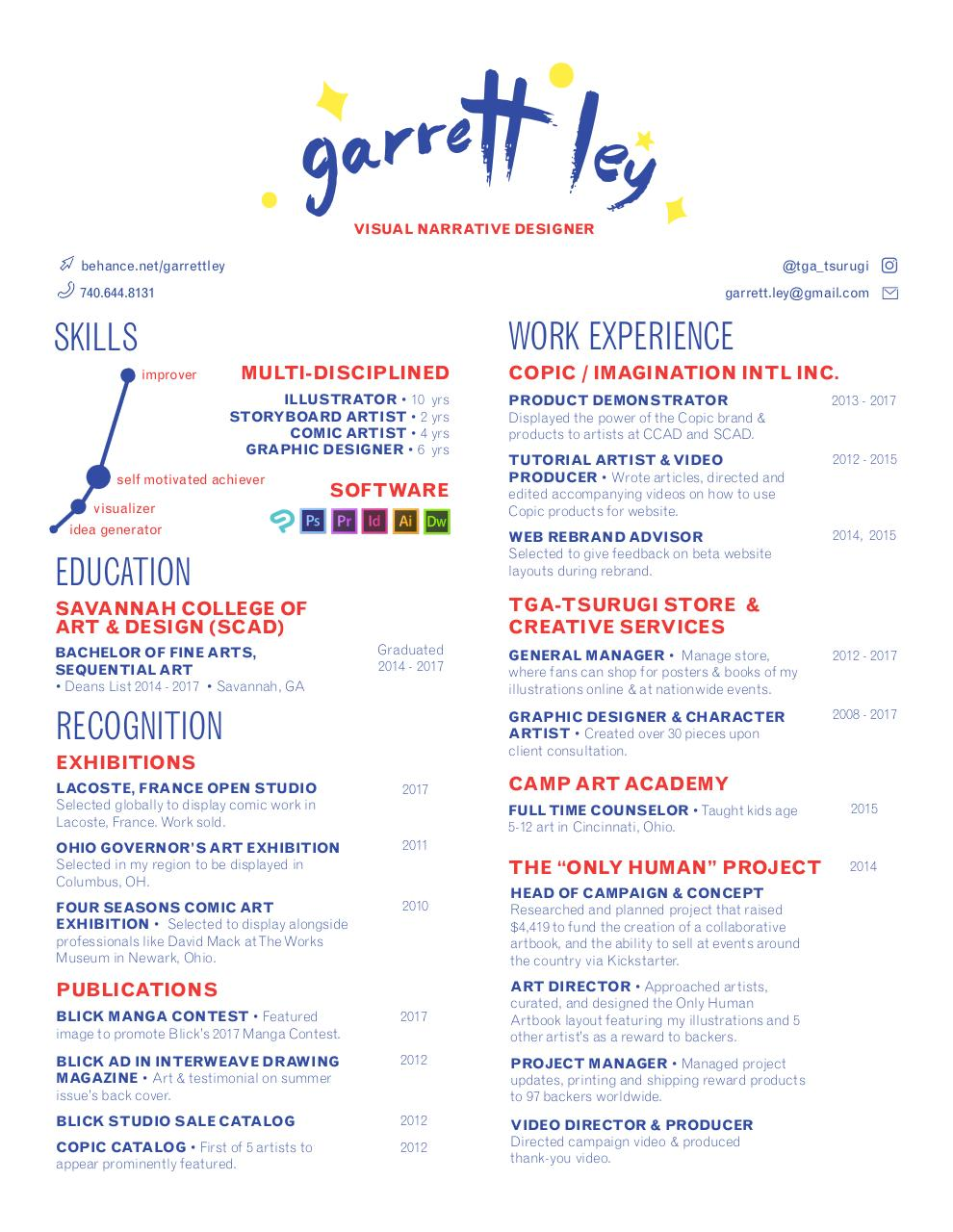 Document preview Resume_GarrettLey (1).pdf - page 1/1