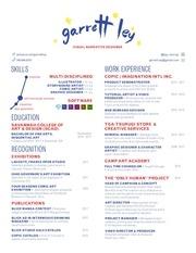 resume garrettley