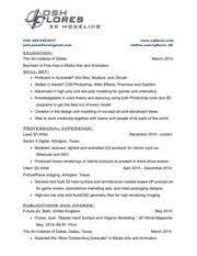 PDF Document resume josh flores