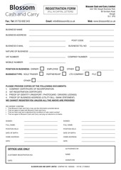 blossom cash carry limited reg form v4
