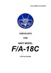 checklist f18c