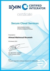 certified integrator in secure cloud services