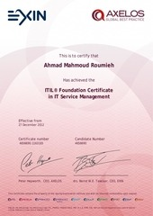 PDF Document itil foundation certificate in it service management