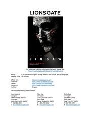 PDF Document sawspace jigsaw production notes lionsgate