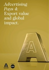 advertisingpays4 export value and global impact