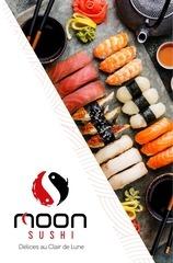 moon sushi menu