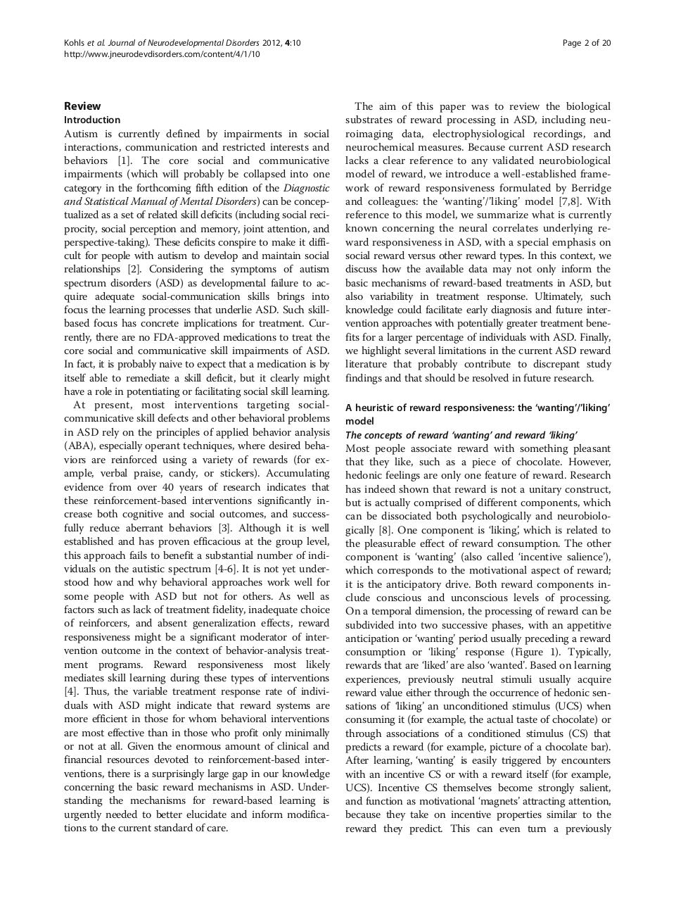 social wanting dysfunction autism asd.pdf - page 2/20