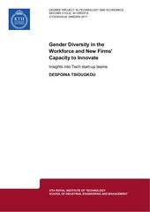 gender diversity and capacity to innovate