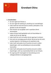 grondwetontwerp china 1