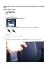 instrukcja instalacji sterowania pilotem centralnego zamka
