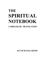 PDF Document vardankar the spiritual notebook 1