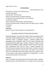 PDF Document so wawa xxiv c 109 16 pozew zbiorowy postanowienie pko bp