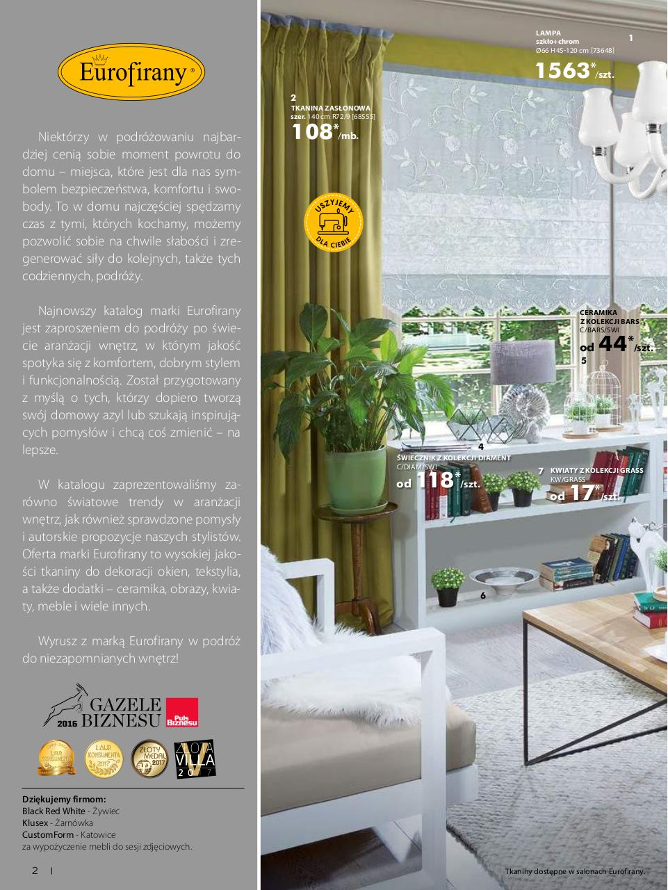 Eurofirany Katalog 2015
