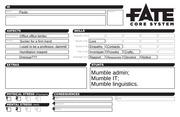 fate core character sheet paula