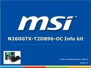 PDF Document info kit n260gtx t2d896 oc