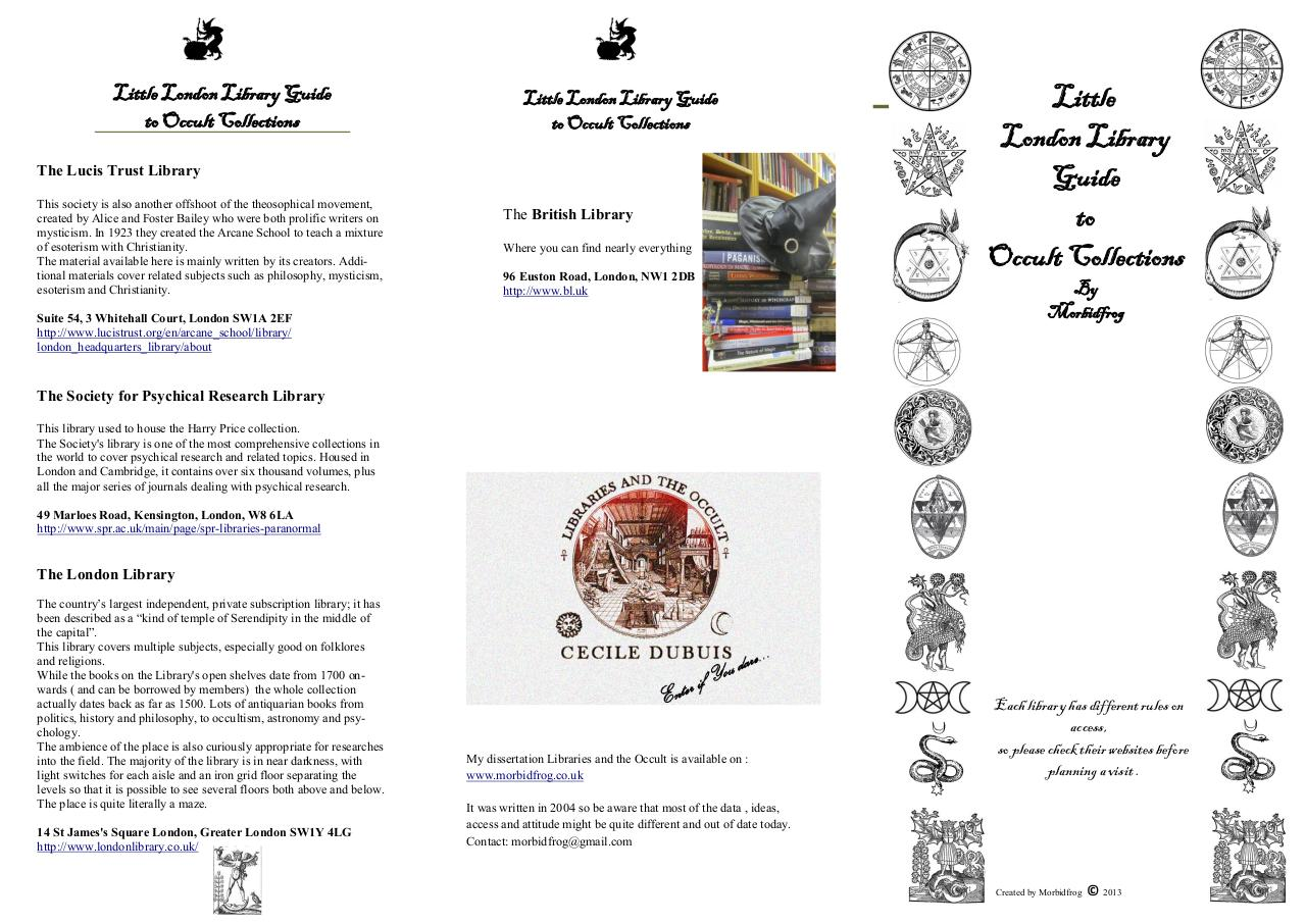 Document preview london occult library booklet.pdf - page 1/2