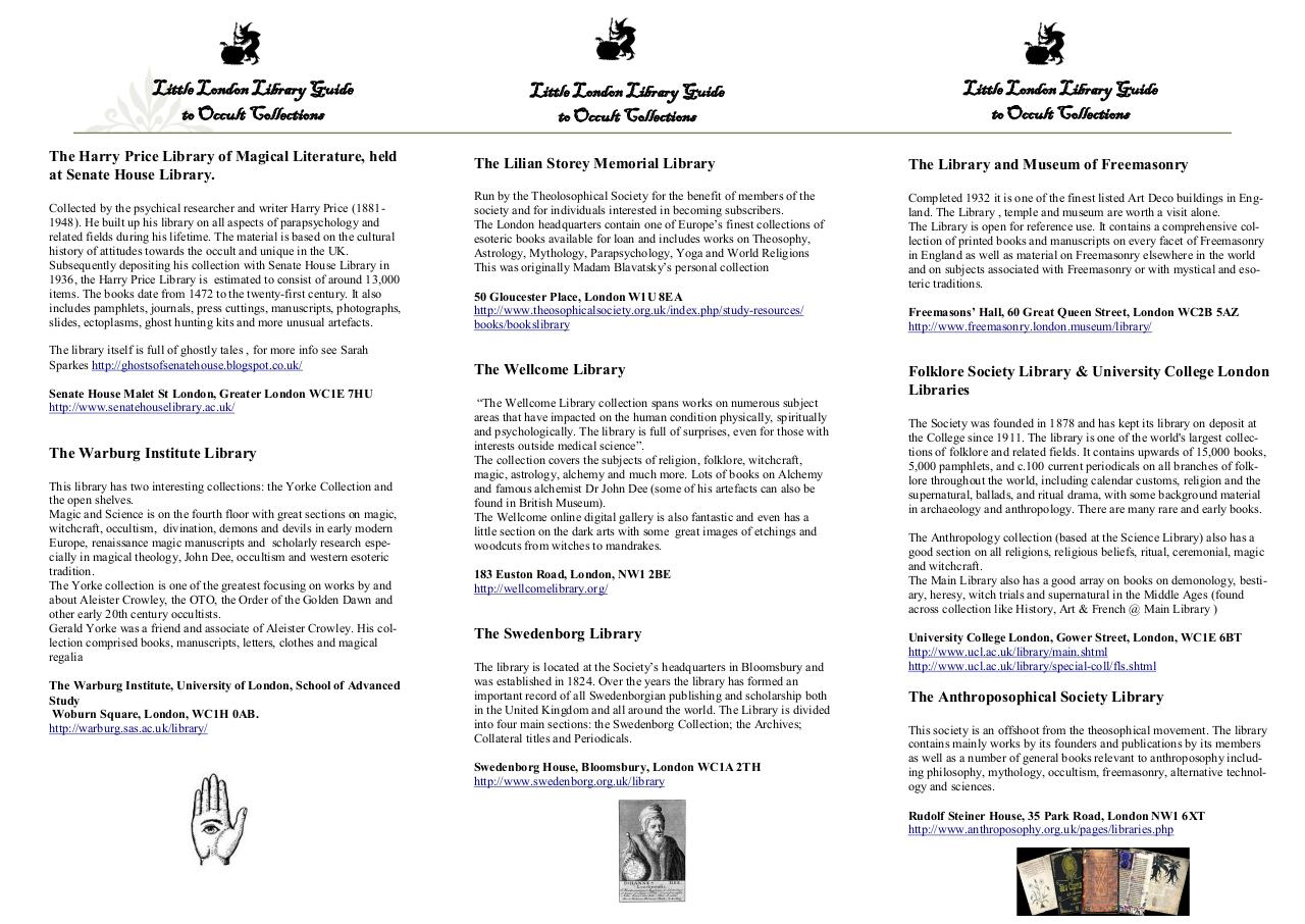 Document preview london occult library booklet.pdf - page 2/2
