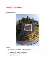 PDF Document sambal ayam geprek
