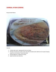 PDF Document sambal ayam goreng