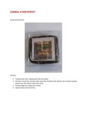 PDF Document sambal ayam penyet