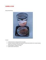 PDF Document sambal ayam
