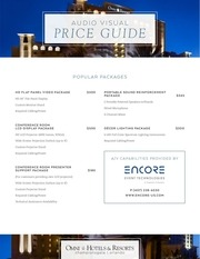 encore 2017 price guide av