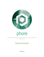 phore white paper french official 1