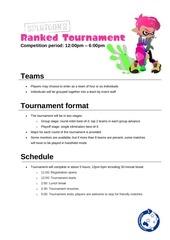 ranked tournament