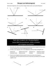 6ab bungsstunde reflexionsgesetz