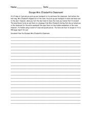 PDF Document escape mrs