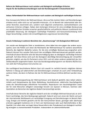 mehwertsteuerreform sozial oekologisch 2017 11 14