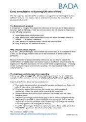 defra ivory consultation bada guidance for collectors v2