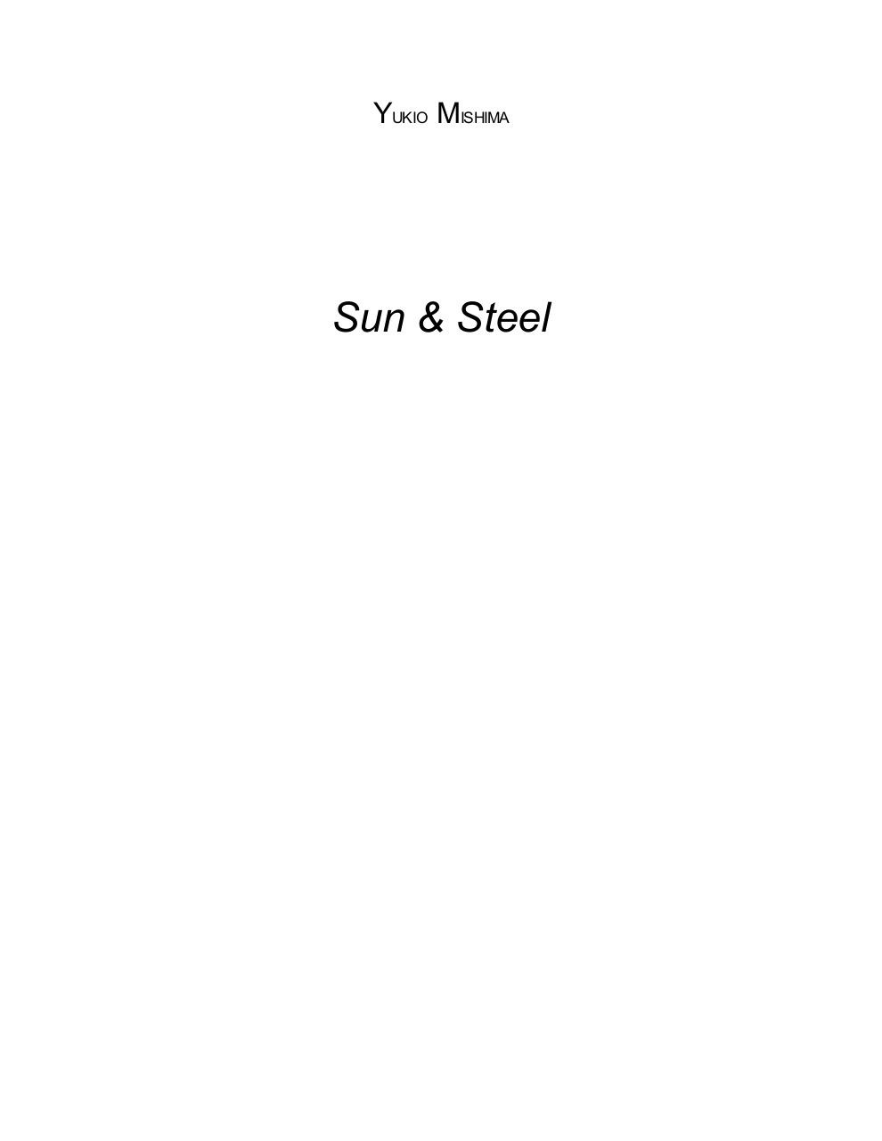 Sun and Steel.pdf - page 2/50